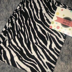 Classic Woman Accessories - Zebra Print Leggings-Super Soft